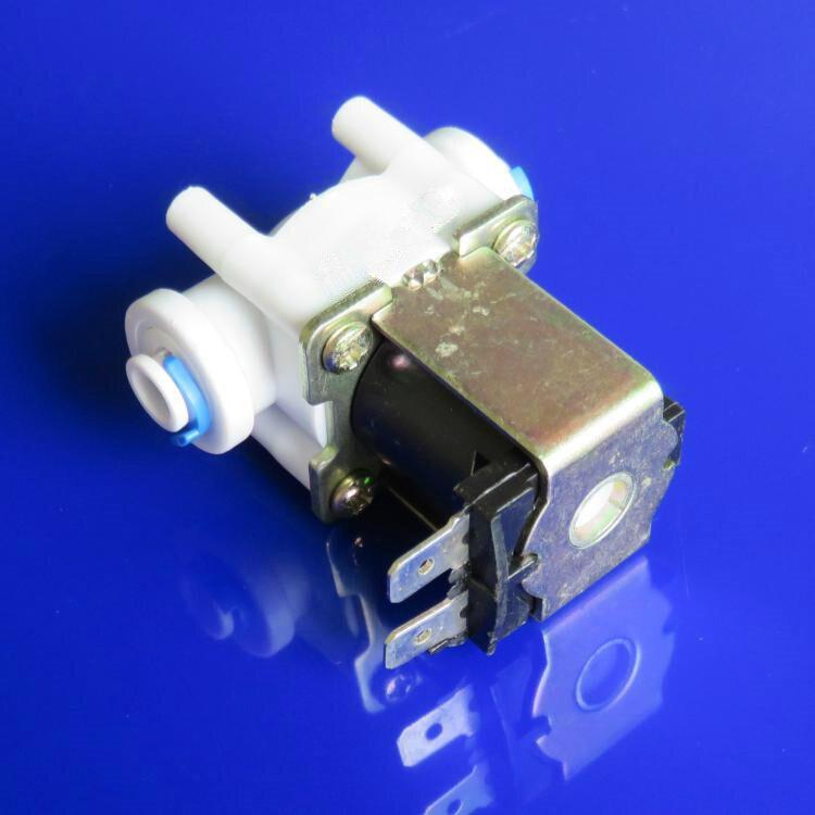 Válvula electromagnética Eléctrica tetera de bebederos de entrar al agua Normalmente cerrado válvula solenoide G1/4 Mpa DC12V 5 W