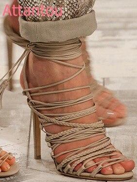 Talon Cheville Hauts Romain Sangle Sexy Chaussures Sandales Bride Talons Beige Femmes À Ouvert Nouveau Bout Style Dame Femme Mince noir La Croix z4nUqZf4w