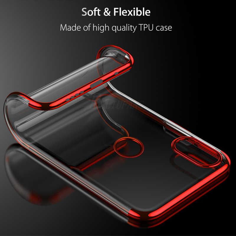 Ultrafino Limpar PC Back Cover Para Xiaomi Redmi 4X 5A 5 Plus 6A 6 Pro S2 TPU Silicon telefone caso Para Caso Nota Redmi 5 6 Pro 4 4X