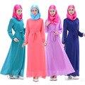Новые мусульманские шифоновое платье vestidos хуэй мусульманского культа платье халаты оптовая продажа