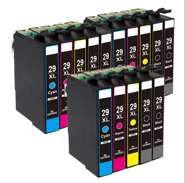 15 Pack Ink Cartridge Compatible for EPSON 2991 2996 29XL XP 235 335 332 432 435 442 332 342 345 245 247 Printer 6pk 33xl compatible ink cartridge for xp530 xp630 xp830 xp635 xp540 xp640 xp645 xp900 t3351 t3361 t3364 for europe printer