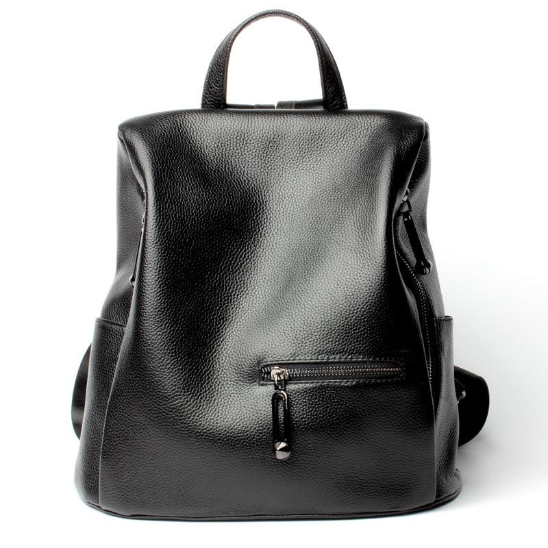 L6149 Wholesale 2017 new Women Bagleather shoulder bag  fashion leisure Leather Backpack