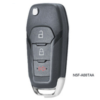 KEYECU Replacement Flip Remote Key Fob 315MHz for Ford F150 F250 F350 15 19 FCC: N5F A08TAA