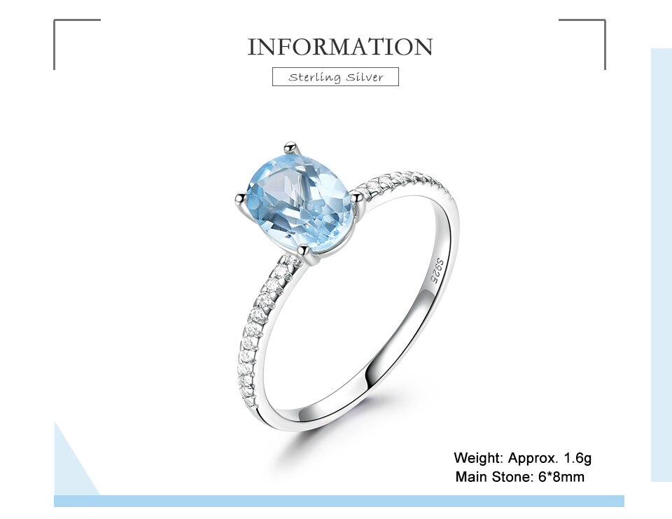 Honyy  Nano Sky blue 925 sterling silver rings for women RUJ087B-1-PC (2)