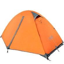Flytop 1-2 osoby Ultralight Odkryty Camping Namiot namiot na zewnątrz wodoodporne namioty namioty Ultralight odkryty podróży Protable