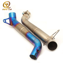 Refit Motorcycle Link Pipe Mid Tube Connect Escape Moto Scooter Muffler for CBR1000 2008 2009 2010 2011 2012 2013 2014 2015 2016