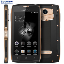 4 г Blackview BV7000 2 ГБ + 16 ГБ IP68 Водонепроницаемый идентификации отпечатков пальцев 5.0 дюймов Android 7.0 MTK6737T 4 ядра до до 1.5 ГГц LTE