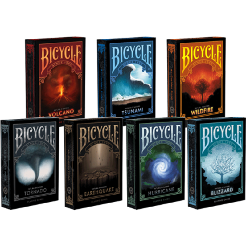 Bicycle Natural Disasters Siries Playing Cards Collectable Poker USPCC Limited Edition Deck Magic Cards Magic Tricks Props tally ho playing cards magic deck magic tricks cardistry deck