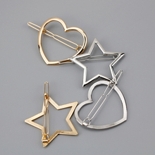 Fashion Creatively Designed Geometric Metal Hairpin