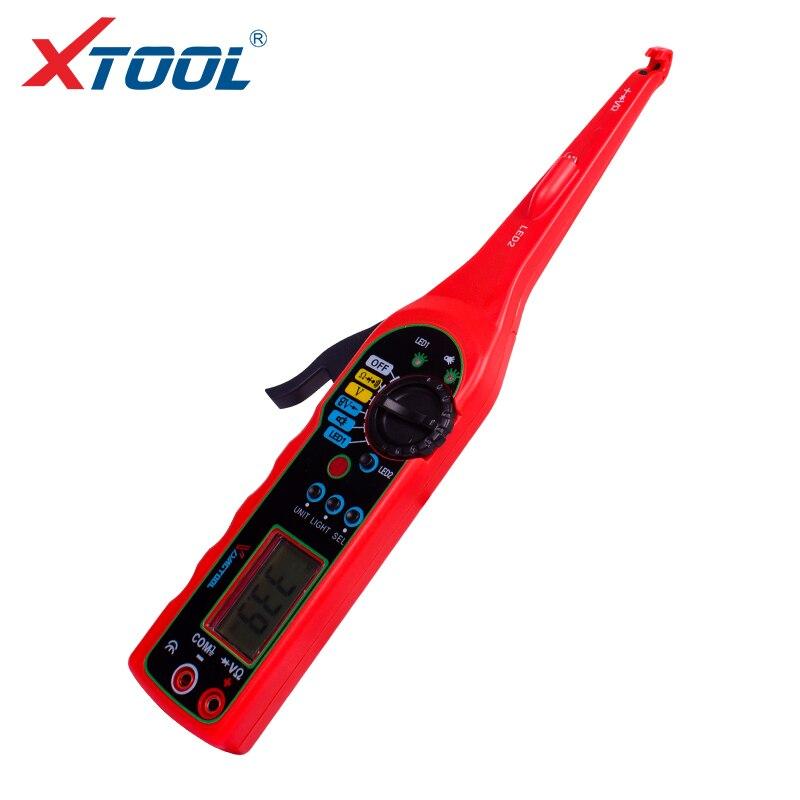 MS8211 eléctrico Multi-función Auto probador de circuitos automoción eléctrica multímetro lámpara reparación OBD2 detector de coche