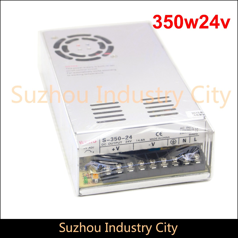 цена на DC Switching Power supply 110V / 220V  input 350W output 24V DC Power Supply Switch Power Supplies! High Quality!