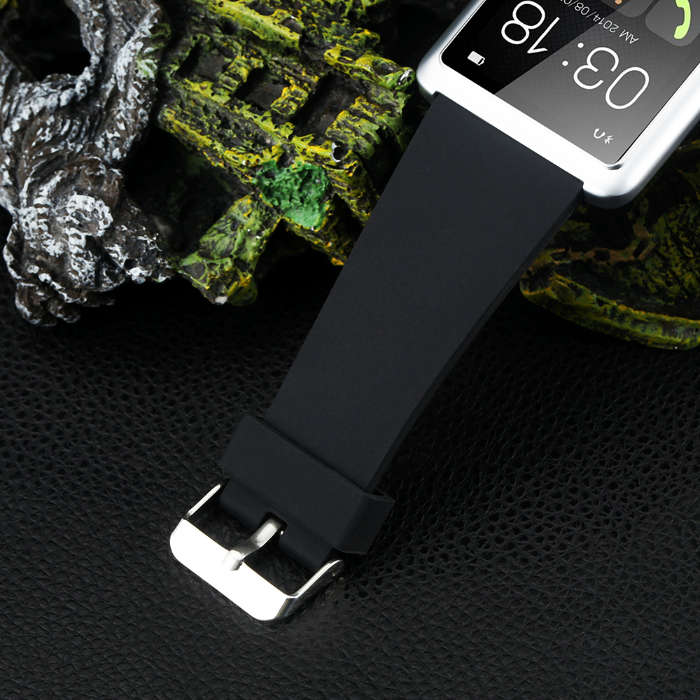 FLOVEME Luxury Bluetooth Smart Watch For Andriod IOS Smart Watch D2 Touchpad Pas
