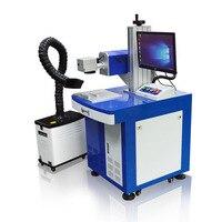 Высококачественная настольная холодной маркировки УФ лазерная маркировочная машина для еда и упаковка для лекарств стекло Керамика