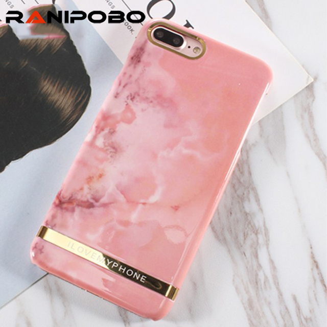 iphone 7 plus phone cases marble rose gold