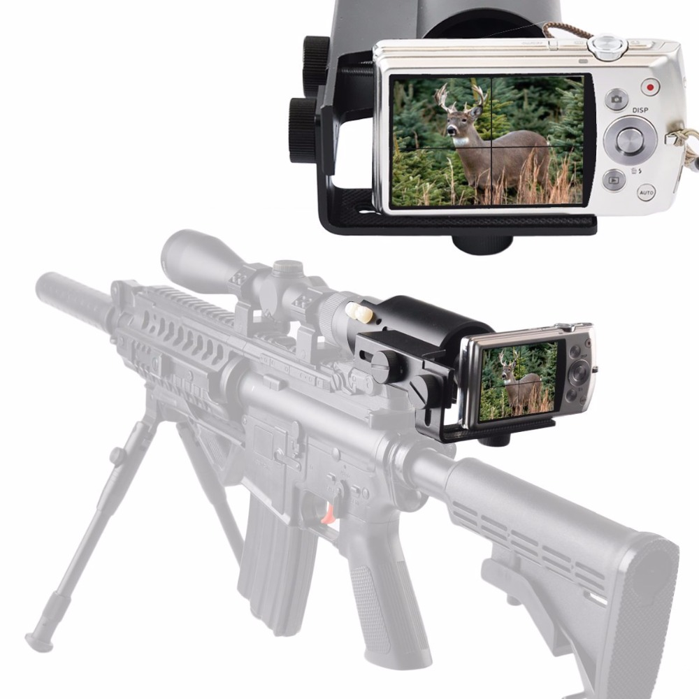 Scope Camera Mount for Rifle Scope Gun scope Airgun Scope for Compact Camera Casio Sony Canon