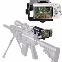Scope Camera Mount for Rifle Scope Gun scope Airgun Scope for Compact Camera Casio Sony Canon Nikon Fujifilm