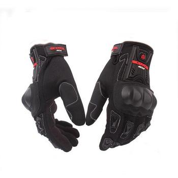 Oddychające rękawice jazda na rowerze wyścigi konna rękawice ochronne rękawice motocrossowe dla Scoyco MC12 pełne bezpieczeństwo węglowe tanie i dobre opinie Unisex Poliestru i nylonu Oddychająca FEELWIND