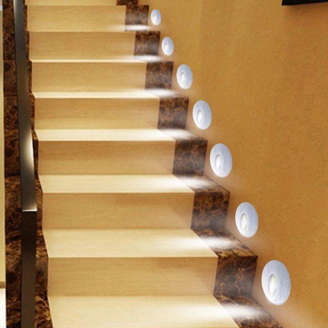 Online Shop 10X Hot Koop Verzonken LED Trap Licht 220 V Inbouw Trap ...