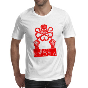 Hail Hydra T Shirt Fashion Casual Creative T-shirt Anime Brand Rock Unisex Tee