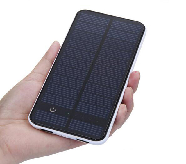 Banco de la Energía Solar 10000 mah Cargador Solar de Batería Externa Cargador de Batería Portátil para Teléfonos Móviles