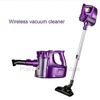 Aspirador inalámbrico de mano recargable 2 en 1, aspirador de bajo ruido con fuerte succión para el hogar