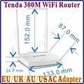 Eng-Firmware Tenda EUA/UE/REINO UNIDO/AU Plug N630 Fácil Instalar 300 Mbps Roteador Sem Fio de Banda Larga AP Router Range Extender 4 10/100 M Portas