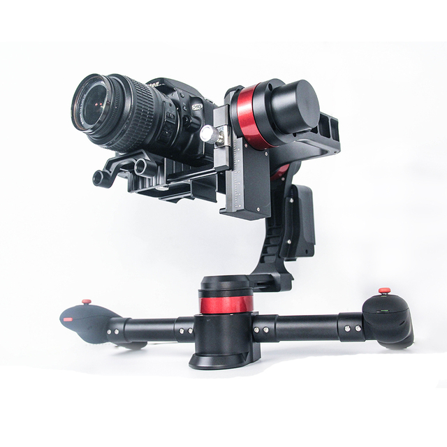 Original Wenpod MD2 black brushless handheld 3-axle gimbal compatible with most popular DSLR cameras F19364