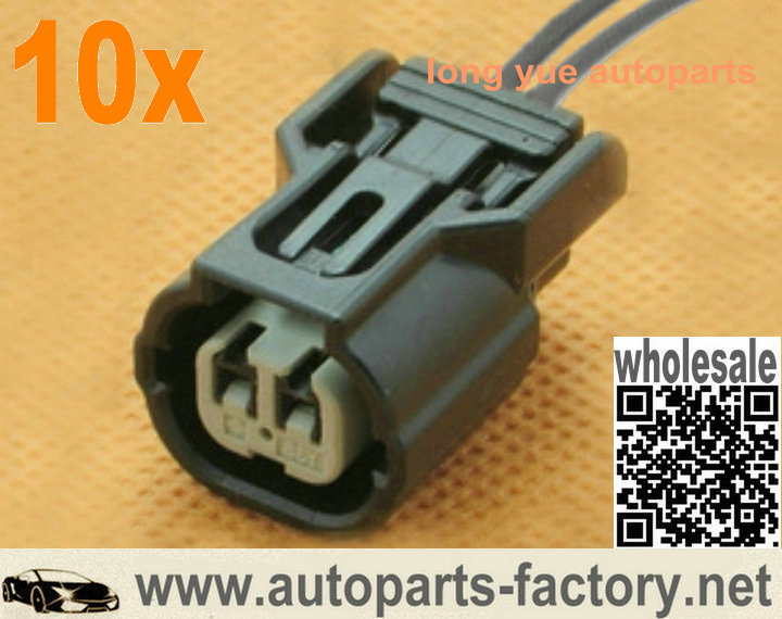 US $12 89 |10pcs IAT ECT VTEC K Series connector plug pigtail rsx ep3 s2000  txs si k20 k case for Honda acura civic element pilot accord 8
