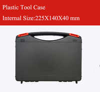 Kunststoff Werkzeug koffer toolbox schlagfest sicherheit fall ausrüstung Instrument box ausrü mit vorgeschnittenen schaumstoff