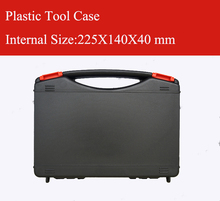 330X215X70MM Plastic Tool case suitcase toolbox Impact resistant safety case equipment Instrument box equipme with pre-cut foam sq6108 portable tool suitcase with full precut foam