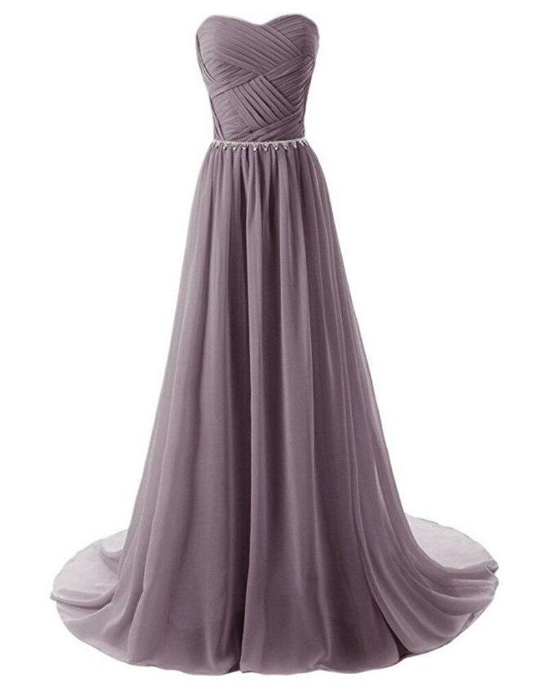Gardlilac Шифон Bridesmaid Dress Long Plus Size тәтті - Үйлену кешкі көйлектер - фото 3