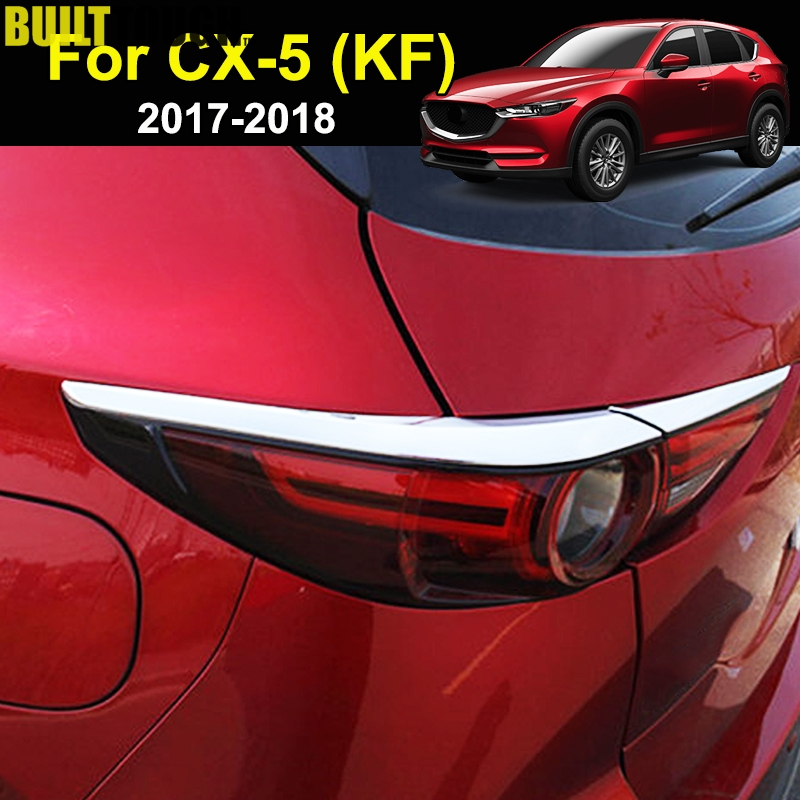 MIT for MAZDA CX-5 2017-ON 2nd Gen Rear Trunk Lower Garnish Chrome cover trim