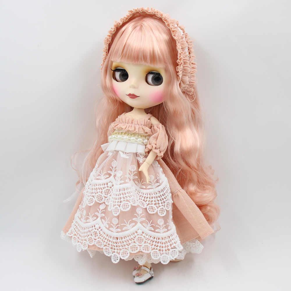 Blyth кукольная одежда Новый Нежный костюм Лолиты головной убор Высокое качество 1/6 кукла нормальное соединение azone licca куклы Icy