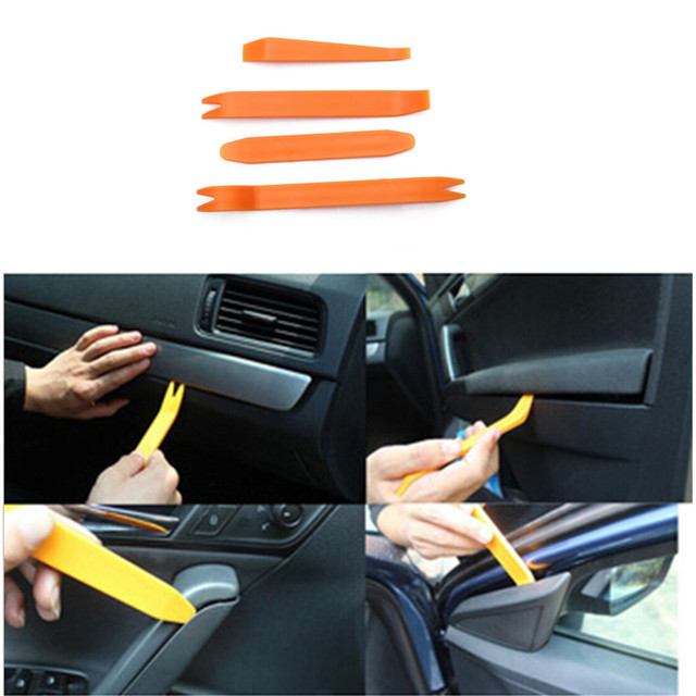 pcs car panel removal tool audio comp auto door clip panel trim removal tool kits for car dash. Black Bedroom Furniture Sets. Home Design Ideas