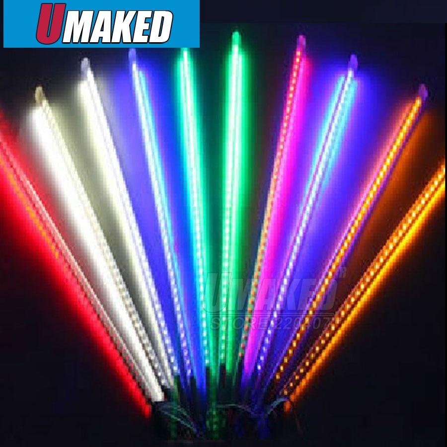10tubes/set 80cm SMD3528 110V/220V LED snow fall,LED christmas light, waterproof raining tube, led meteor tube