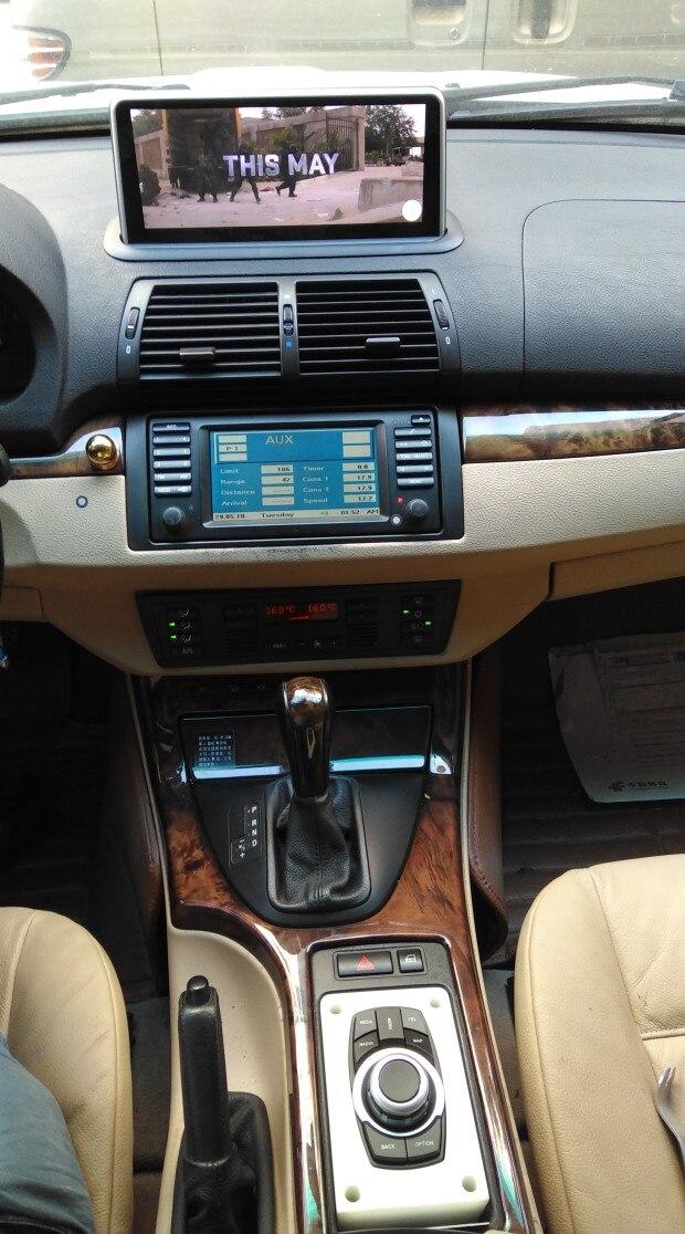 Pour BMW E53 X5 (1998-2006) seulement support original écran 6.5/4.3 pouces 10.25 pouces android 8.1 voiture navigation gps multimédia dispositif