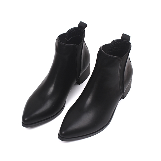 Brand Autumn Winter Women Pointed Toe Sexy Ankle Boots Retro High Heel Black Elegant Casual Short Boots Shoes Female CN-A0009 pointed toe sexy front lace up casual ankle boots autumn high heel fetish shoes suede stiletto roman 2017 pink strange female