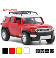 Free ship 1:32 Toyota FJ CRUISER Alloy Diecast Model Car Sound&Light Collectible Alloy Electronic Car Kids Toys Plaything Gift