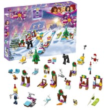 купить Friends Advent Calendar Friends Building Blocks Bricks Toys DIY For Girls Model Compatible with legoINGly 41326 по цене 545.15 рублей