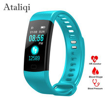 Smart Band Watch Color Screen Wristband Blood pressure Bracelet Heart Rate Activity Fitness tracker Smartband for Xiaomi Android(China)