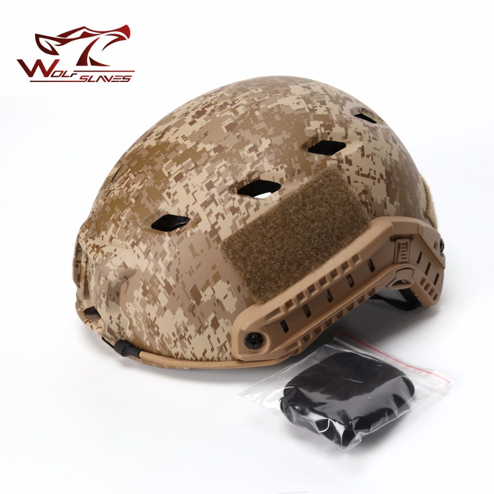 Tactical BJ Helmet NVG Mount And Side Rail With goggles combat Helmet Airsoft Gear Paintball Head Protector hunting accessory military m88 helmet accessory airsoft paintball combat helmet mount kit rhino nvg mount for night vision