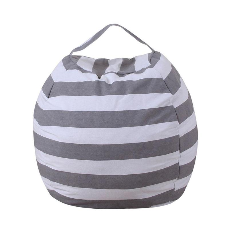 Creativo almacenamiento moderno de animales de peluche de almacenamiento bolsa de frijol silla portátil niños de juguete bolsas de almacenamiento y ropa de juego alfombra herramienta organizadora