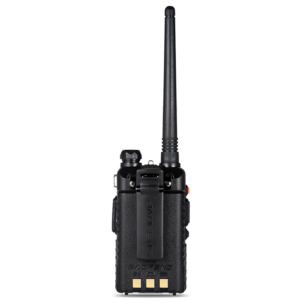 BF-UV5R Walkie-talkie Manual Frequency Modulation 10KM Communication Distance 5W Power UV Dual-frequency Security Walkie Talkie