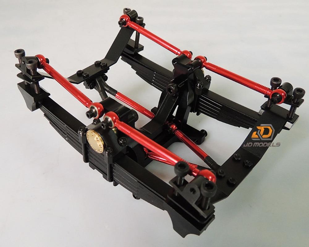 1//14 rear metal cross member fit tamiya extended version fit air suspension well