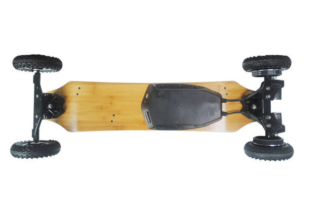 Electric Skateboard with two Hub Motors 1650W*2 Max 11000mAh