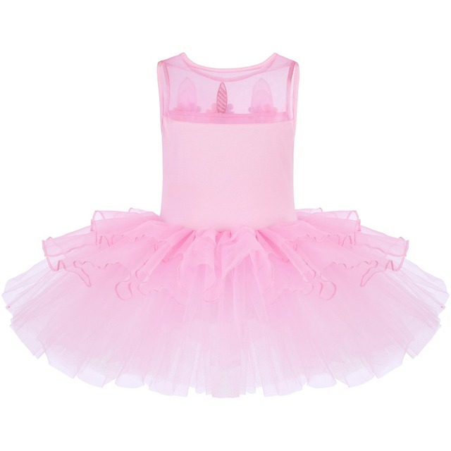Cute Unicorn Ballet Tutu Dress