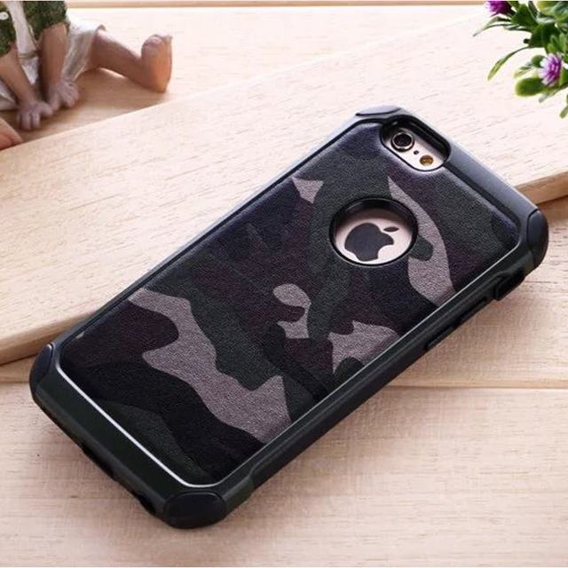 For Le Iphone 5 Case Silicone Cell Phone 5s Rugged Armor Shockproof Back
