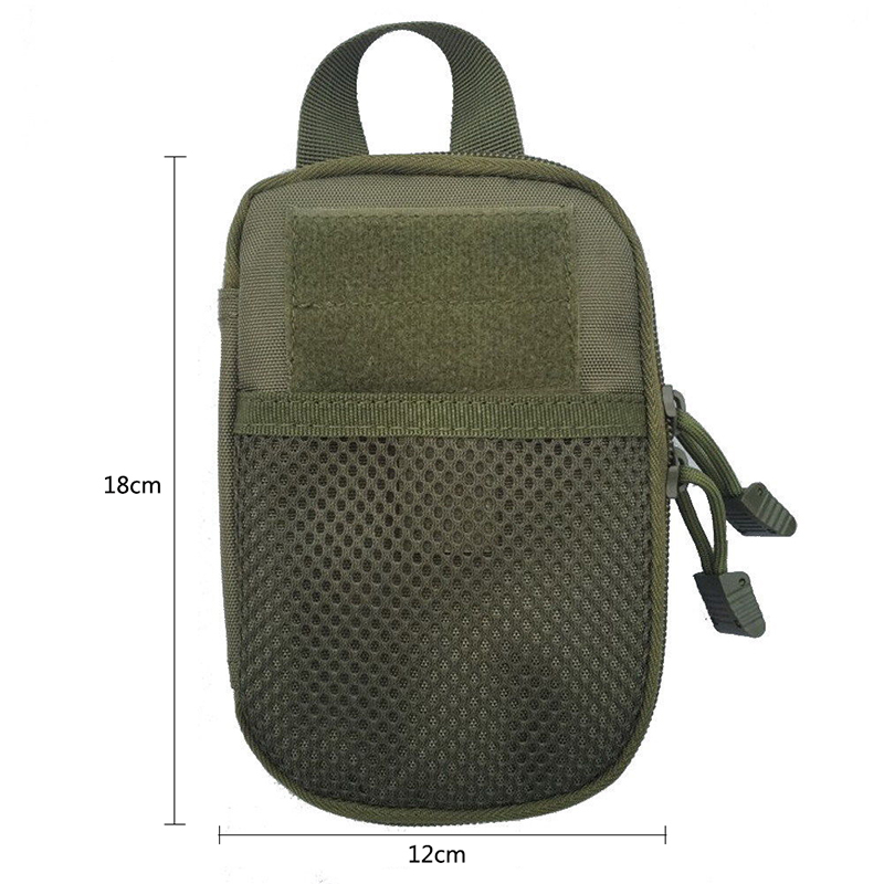 1000D Nylon Molle Militar Táctico Al Aire Libre Paquete de La Cintura bolso Domi