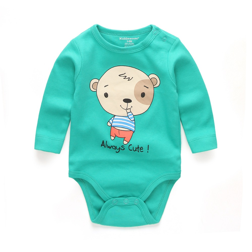 Baby Clothes Cheap | New Collar Long Sleeves Cheap Baby Rompers Newborn Unisex Toddler Baby Clothes Infant Product