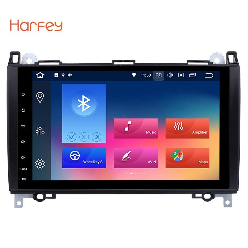 Harfey 2 din Android 8,0 9 Car gps Радио Мультимедийный проигрыватель для 2000 2015 Фольксваген Crafter поддержка 3g Wi Fi OBD2 1080 P видео